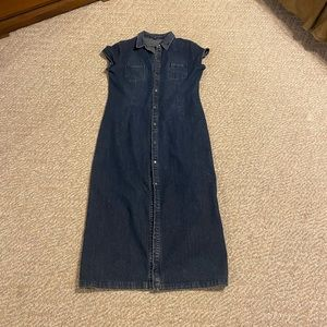 Ralph Lauren Sport long denim dress